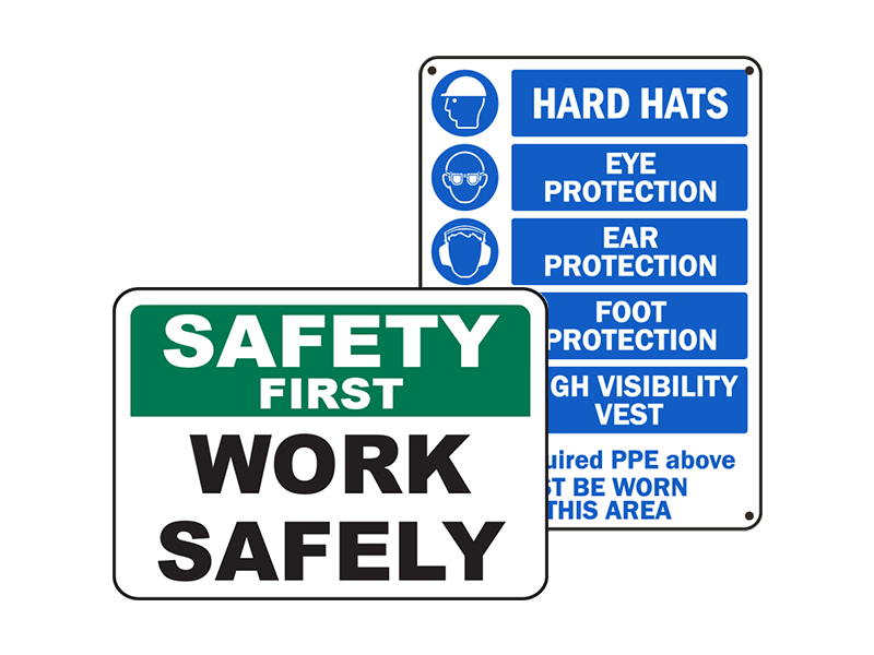 Safety Bylaw Signs